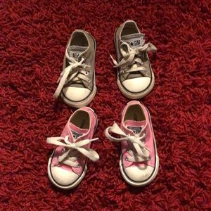 Bundle of two converse All Star sneakers